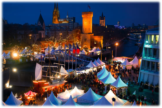 Weihnachtsmarkt Hafen Köln